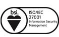 Logo BSI ISO 27001