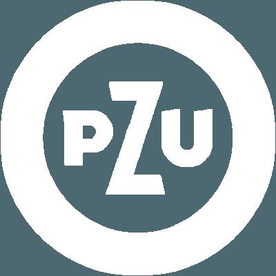 White Logo PZU
