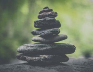 stones set in harmony